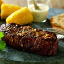 Steaks with Spicy Orange Sauce[1]